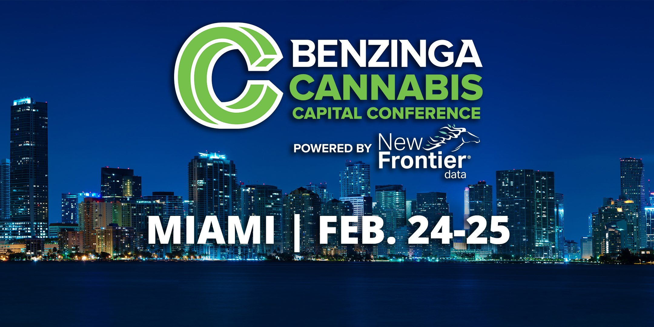 Benzinga 2020 Cannabis Capital Conference Miami