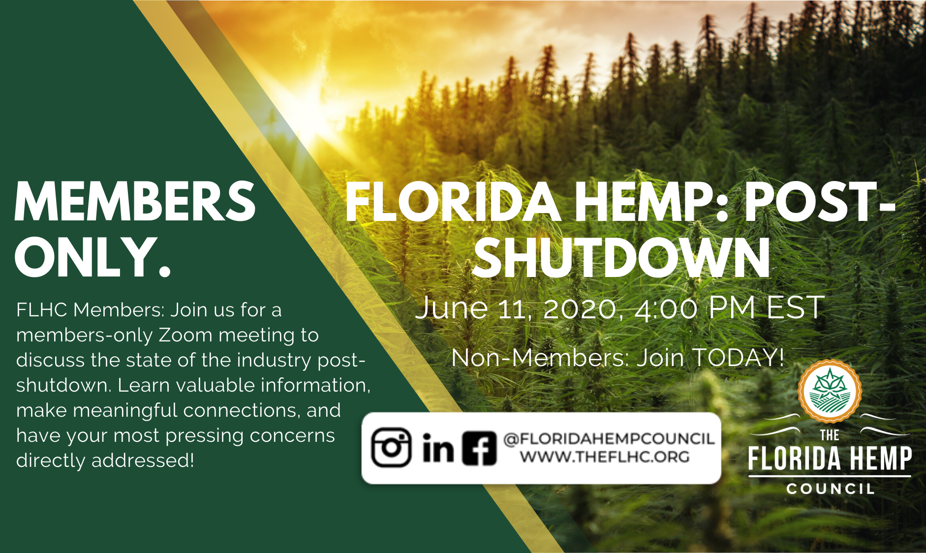 Florida Hemp: Post-Shutdown (Members Only)