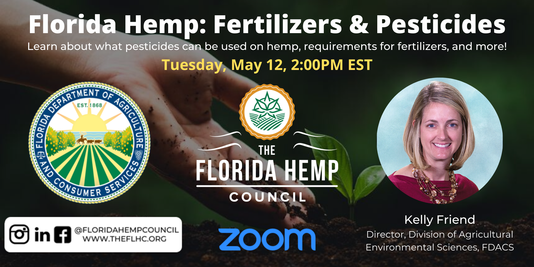 Florida Hemp: Fertilizer & Pesticides with FDACS