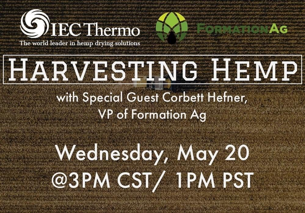 Harvesting Hemp with Corbett Hefner, VP of Formation Ag